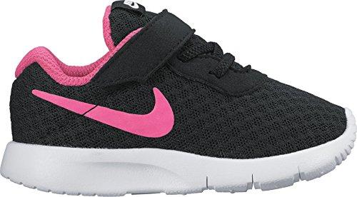 Nike Mädchen Tanjun (TDV) Sneaker, Schwarz (Black/Hyper Pink/White 061), 22 EU Nike-schuh-baby-mädchen