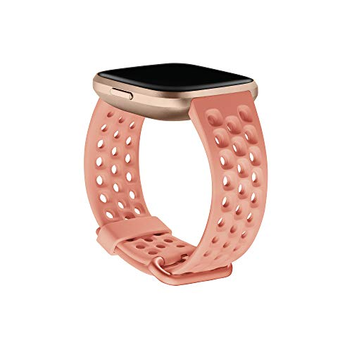Imagen de fitbit versa 2 watch strap, unisex adult, coral, large