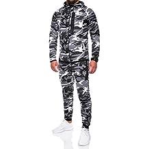 MT Styles Trainingsanzug mit Zipper Camouflage Jogginganzug R-1053