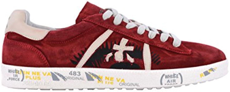 Donna  Uomo Uomo Uomo PREMIATA scarpe da ginnastica Uomo ANDY3098 Pelle Rosso elegante Riduzione del prezzo Design professionale | Qualità primaria  4f6130