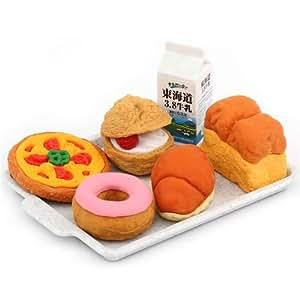 Iwako erasers Bakery 6 pieces set