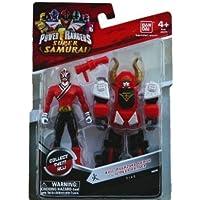 "Saban's Power Rangers Super Samurai Bull Megazord Armor With Mega Ranger 4"" Fire by Ban Dai (English Manual)"