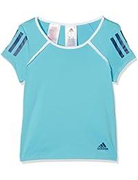 adidas Camiseta de niña G Club, Primavera/Verano, niña, Color Samba Blue/White/Mystery Blue,…