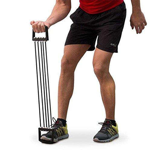 Bandas de ejercicios para musculación en casa. Tensor ftness ideal para aumentar masa muscular,eliminar grasa abdominal,celulitis y liquidos