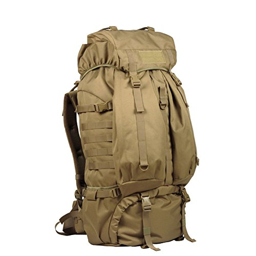 Camping Wandern Outdoor Rucksack/80LWasserdichte Tasche-grau 80L gelb