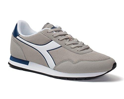 Diadora Breeze, Sneaker a Collo Basso Unisex – Adulto 75067 GRIGIO