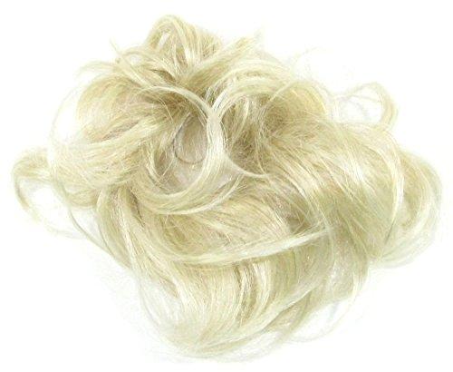 Gizzy® - elastico per capelli da donna, biondo chiaro, medio