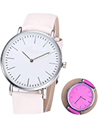 Capture Fashion WHITE TO PINK COLOR CHANGE Watch