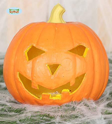 (Guirca Kürbis mit Licht - Foam 16cm - Halloween, Calabazas)