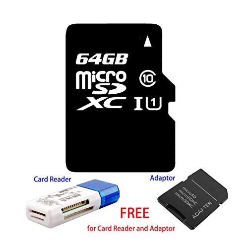 Tarjeta de memoria micro SD de alta velocidad, clase 10, de 8 GB, 16 GB, 32 GB, 64 GB, 128 GB, velocidad de escritura de 9 m-12 m/s para cámara de teléfono inteligente 64 GB
