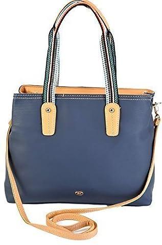 David Jones Glockenblume Damen Shopper Tasche One Size Marineblau