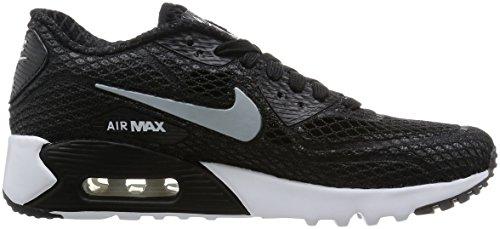 Nike Herren Air Max 90 Ultra Br Plus Qs Laufschuhe, Blau Schwarz / Grau / Weiß / Lima (Schwarz / Wolf Grau-Weiß-Volt)