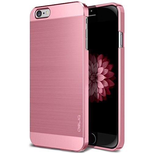 Obliq iPhone 6S/6S Plus Slim Meta & Slim Meta II Serie, plastik, Meta Metallic Pink, iPhone 6/6s (T-fitting Return)