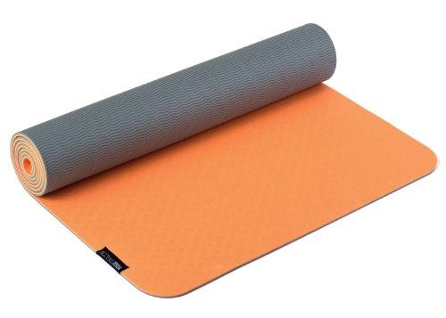 Yogistar Yogamatte Pro - sehr rutschfest - Mangue