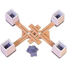 Aidapt - Kit de elevadores de sillas ajustable (unidos)