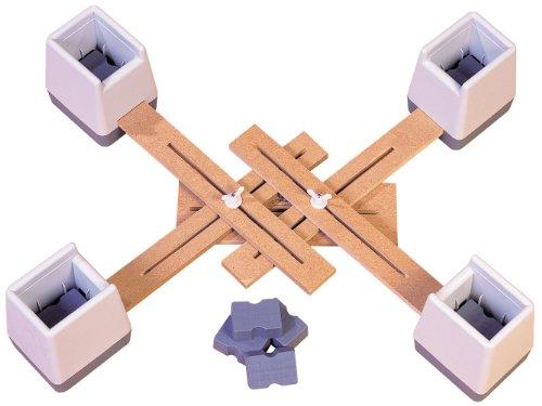 Aidapt VG824M Stuhlerhöhung verstellbar verbunden Set