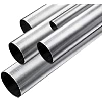 Edelstahl Rundrohr Konstruktionsrohr V2A 1.4301 Blank 12,0x1mm 1000mm
