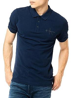 Polo Shirt Calvin Klein Jeans Pice Blue