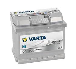 PKW Batterie Varta SILVER dynamic 5524010523162 12 Volt 52Ah (Akku) C6 Autobatterie