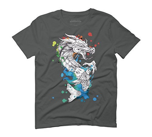 metamorphosis Men's Graphic T-Shirt - Design By Humans Anthracite