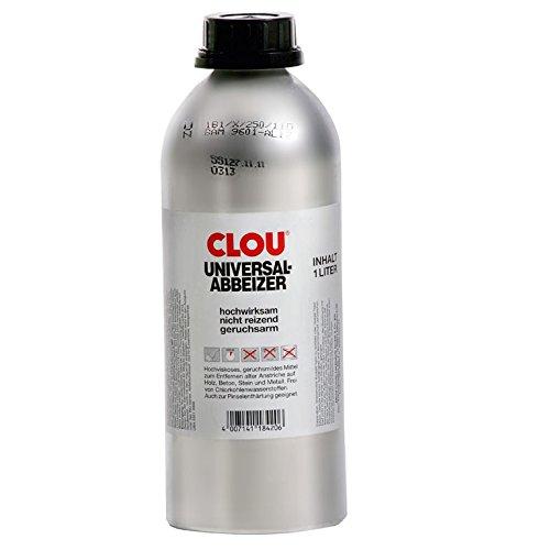 Clou Profi Abbeizer 1 Liter. Universalabbeizer.