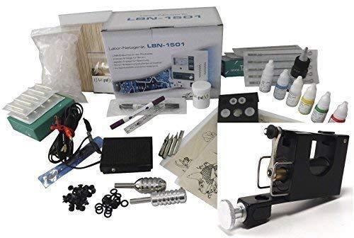 TATOUAGE - DE LUXE -lot complet IG-01 INKgrafiX Allemagne - SET professionnel - STUDIO