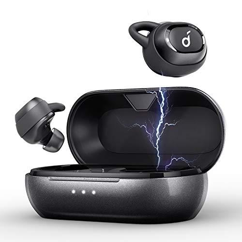 Soundcore Liberty Neo Bluetooth Kopfhörer von Anker, True Wireless Earbuds mit Graphene-verbesserten Audio-Treibern, 12 h Akkulaufzeit, IPX5 wasserdicht, Stereo-Anrufe, ACC, Mikrofon, Bluetooth 5.0 (Audio Kopfhörer Wireless)