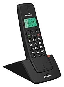 Binatone designer 2102 dect cordless phone black electronics - Designer cordless home phones ...