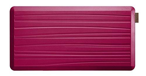 NUVA Salon Antislip Anti-Ermüdungsmatten Antimikrobielle> 99,9%, ungiftiger Geruch, wasserdicht, 39x20x0,75 Zoll., Verschiedene Größen und Farben, Kommerzielle Qualität: 10 Jahre Garantie (Magenta, Beach Pattern) von Nuva