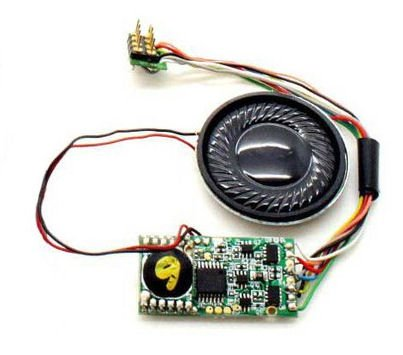 Hornby r8101Class 31TTS Sound Decoder