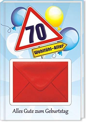 Zum Geburtstag - 70: Geld-Geschenkbuch
