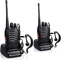 SHOPEE BF-888S UHF 400-470MHz CTCSS/DCS with Earpiece Handheld Amateur Radio Walkie Talkie Two Way Radio Long Range…