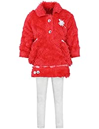 Aarika Girl's Pink Fit & Flare Clothing Set