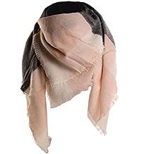 UPhitnis Plaid Sciarpa Donna Inverno, Sciarpa Donna Invernale Grande Moda o Scialle Come Morbido e Confortevole Come Pashmina