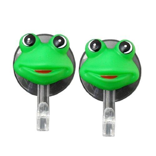 Water & Wood Lovely Green Cartoon Frog