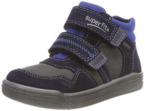 Superfit Jungen Earth Hohe Sneaker, Blau (Blau/Blau 80), 25 EU