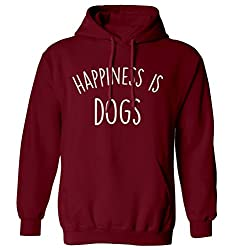 Happiness is dogs hoodie XS - 2XL