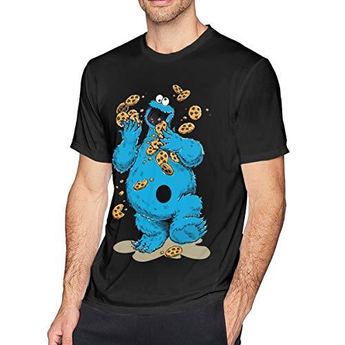 er Crazy Cookies Herren Weich T-Shirt Black XL ()