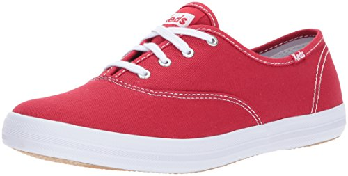 Keds Champion Oxford CVO Damen Rosa Breit Rund Leinwand Neu Champion Oxford Sneaker