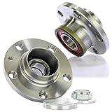 2x Radnabe Radlagersatz inkl. ABS-Ring Hinten Set für die Hinterachse