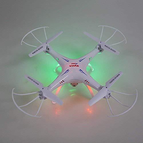 Syma X5SC Verbesserter Neue Version Syma X5SC-1 Falcon Drone HD 2.0MP Kamera 4-kanal 2,4 G Fernbedienung Quadcopter 6 Achse 3D Klapp Fliegen UFO 360 Grad Eversion Mit 4GB SD Karte – Weiß, x5sc-1 - 5