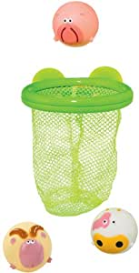 Safety 1st 34110003 Water Fun Bath Animals with Net for Catching and Storing
