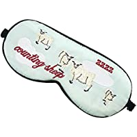 Gestickte Naturseide Schlafmaske & Augenbinde Super-glatte Augenmaske Augenabdeckung#541 preisvergleich bei billige-tabletten.eu