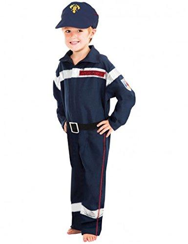 Déguisement sapeur-pompier enfant--3 à 4 (Ans Kostüm 4 De Pompier)