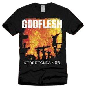 Godflesh T-shirt (Streetcleaner) black Extra Large