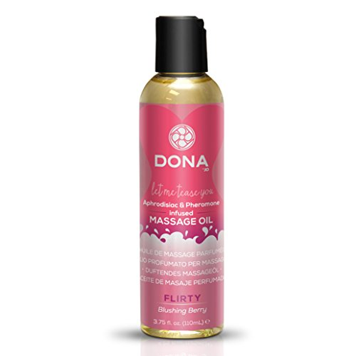 Massage-soufflé (Dona von Jo 120ml Blushing Berry Duft Massage Öl)