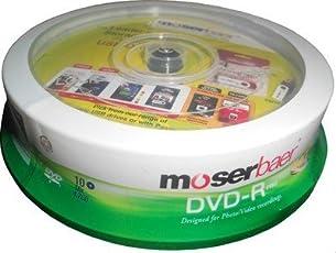 Moser Baer DVD-R 16x 4.7 GB (10 Pack)