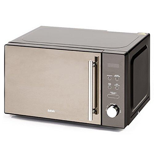 BBK Micro-Ondes 20MWS-722T/B-M, 20 litres, 700 Watts, Commandes électroniques, Noir W, 20 liters