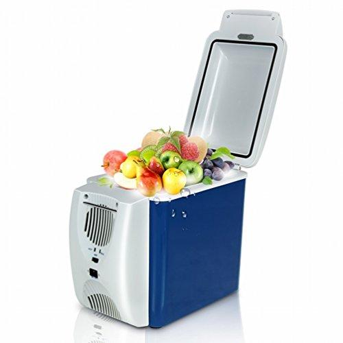 Preisvergleich Produktbild XIXI 7.5L Auto Kühlschrank portable kalt und kalt Dual-Use-Kühlung Mini Mini-Kühlschrank Mini-Kühlschrank, Zahl, 7, 5L