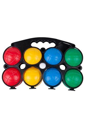 Mountain Warehouse Boule-Set - Leichtes, traditionelles Spiel, handliche Tragetasche, strapazierfähiges Pétanque-Spiel - Für Spielen im Freien oder drinnen bei Regen Schwarz -
